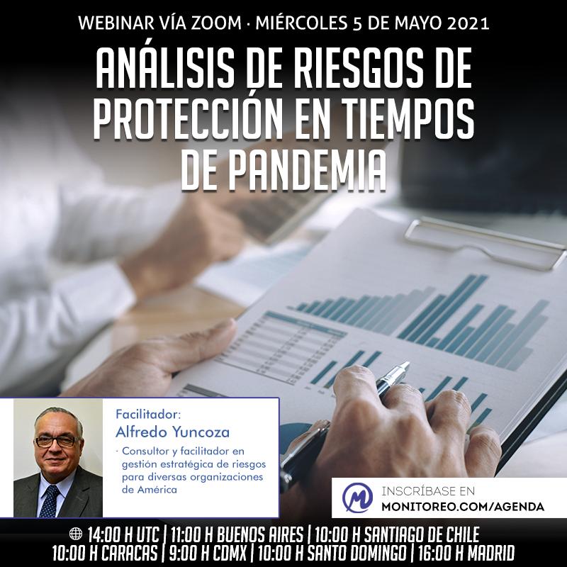 Análisis de riesgos de protección en tiempos de pandemia