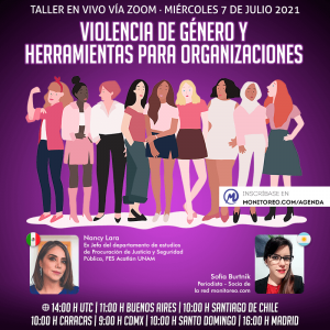 Violencia de género y herramientas para organizaciones